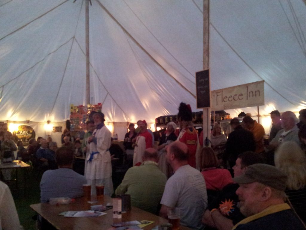 caterer beer mummers-in-the-bar